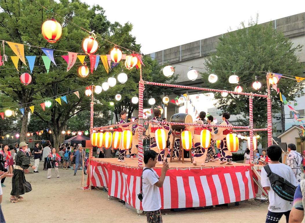 山田学区盆踊り1