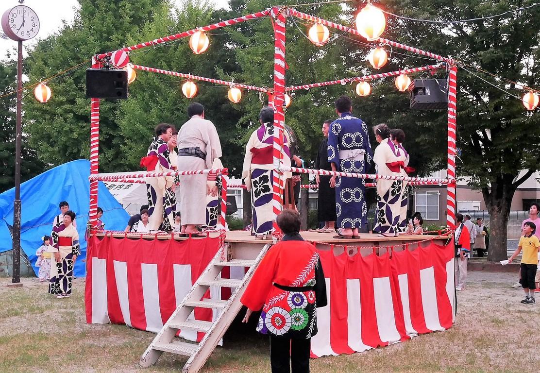 山田学区盆踊り2