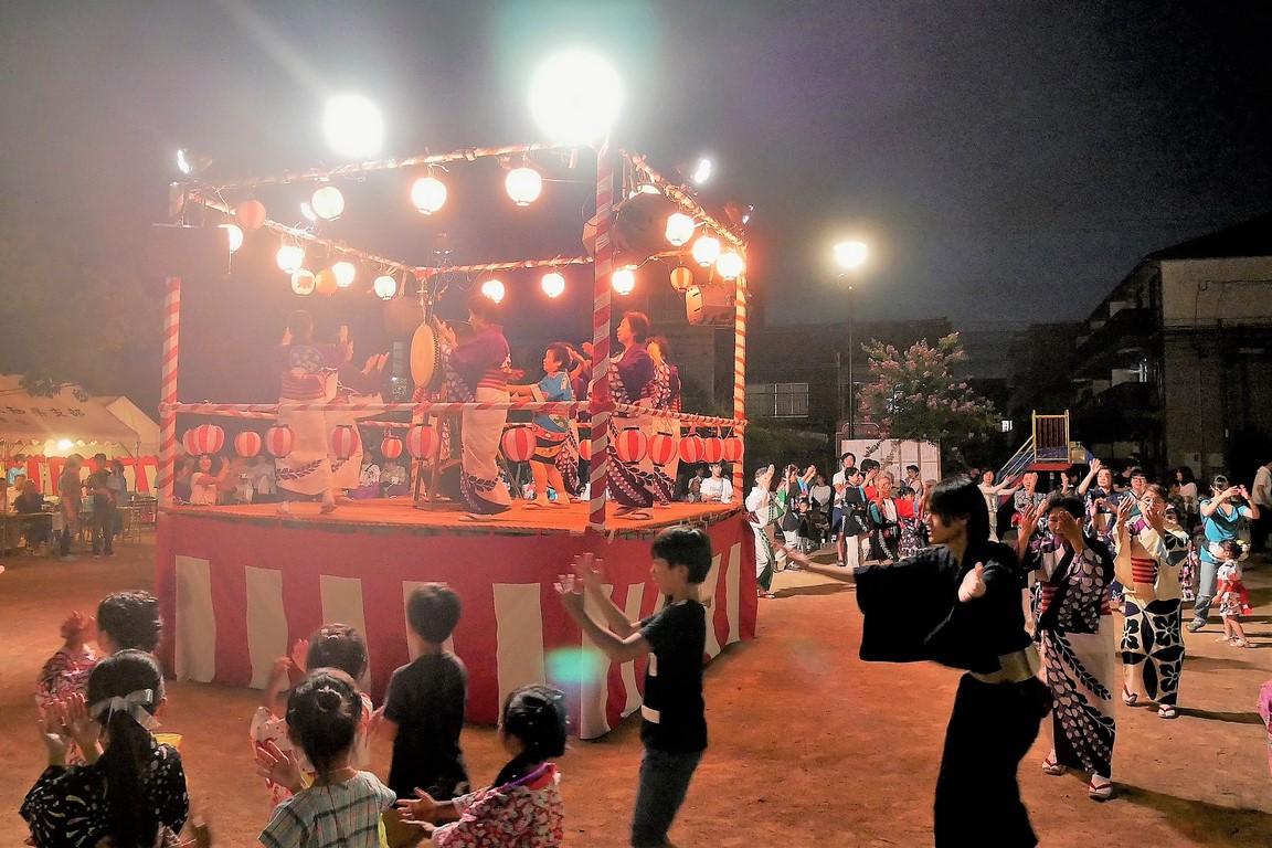山田学区盆踊り3