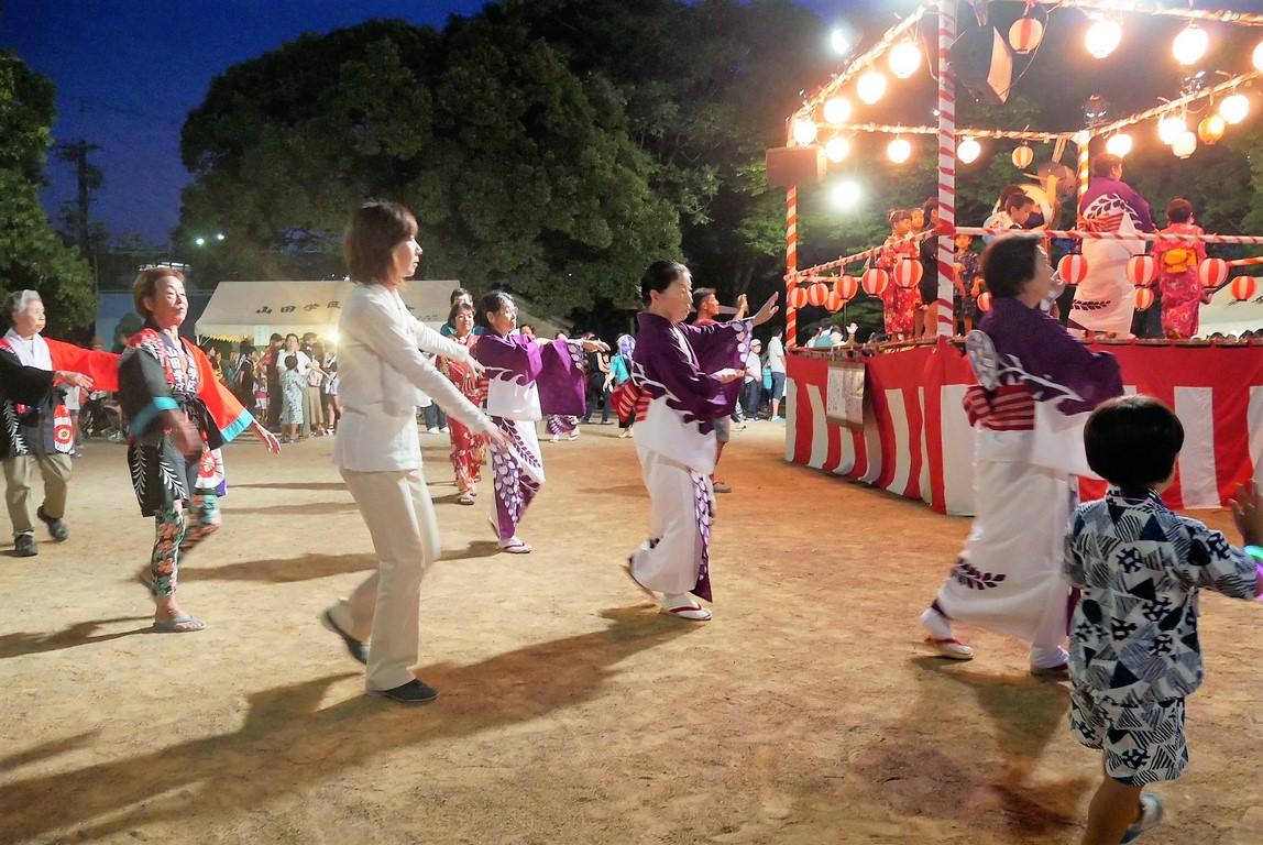 山田学区盆踊り5